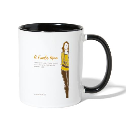 Proud Working Mom Gear - Contrast Coffee Mug