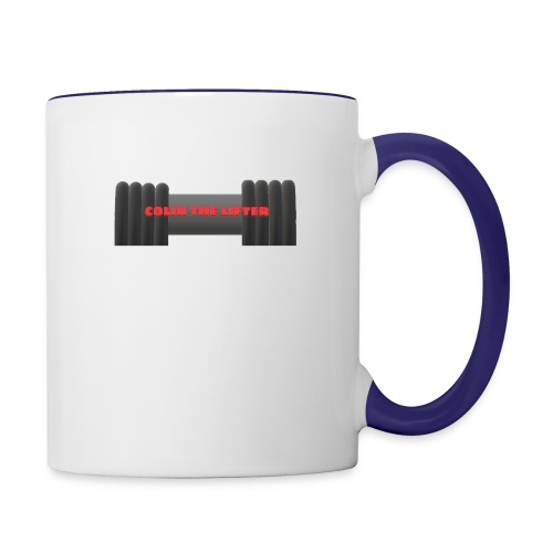 colin the lifter - Contrast Coffee Mug