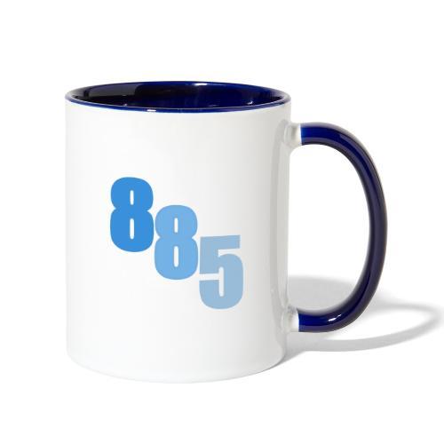 885 Blue - Contrast Coffee Mug