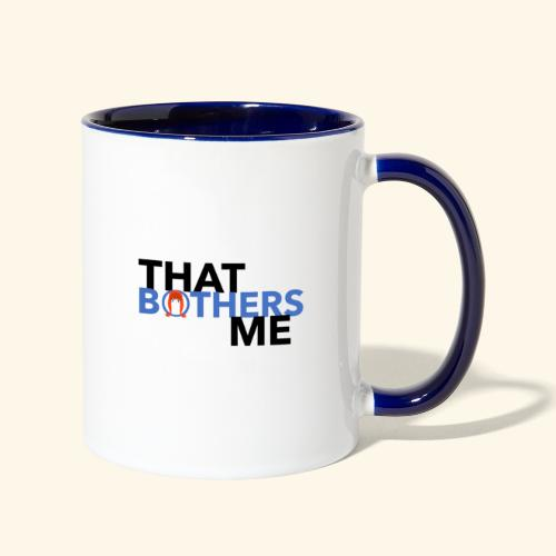 Coco That Bothers Me - Blue - Contrast Coffee Mug