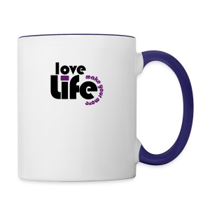 Love Life - Contrast Coffee Mug