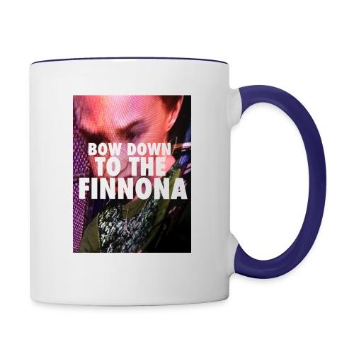 Bow Down To The Finnona - Contrast Coffee Mug
