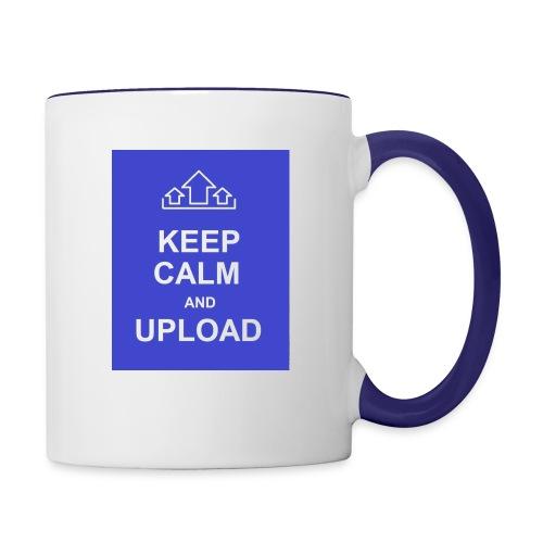 RockoWear Keep Calm - Contrast Coffee Mug