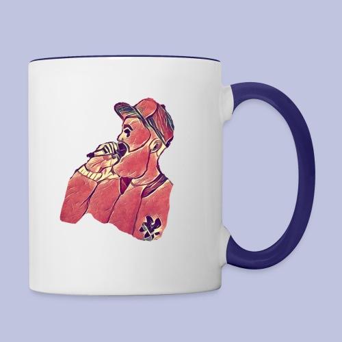The Break Up (icon) - Contrast Coffee Mug