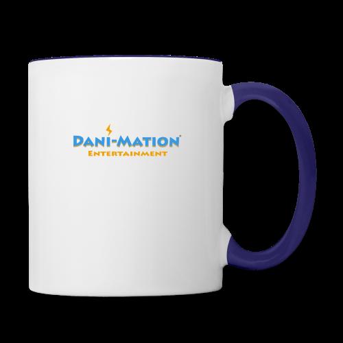 DaniMation Logo - Contrast Coffee Mug