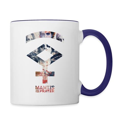Mantis and the Prayer- Symbol Design - Contrast Coffee Mug