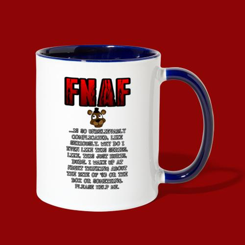FNAF Is A Complicated Thing - Contrast Coffee Mug