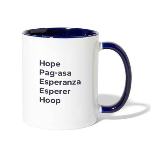 DC2020 SwagStore PRESS Hope for the World 2 f - Contrast Coffee Mug