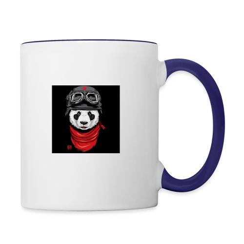 Panda - Contrast Coffee Mug