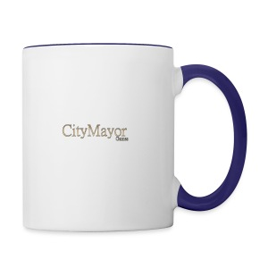 CityMayor Games Logo (Merchandise) - Contrast Coffee Mug