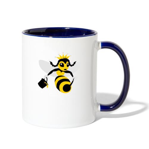 Queen Bee - Contrast Coffee Mug