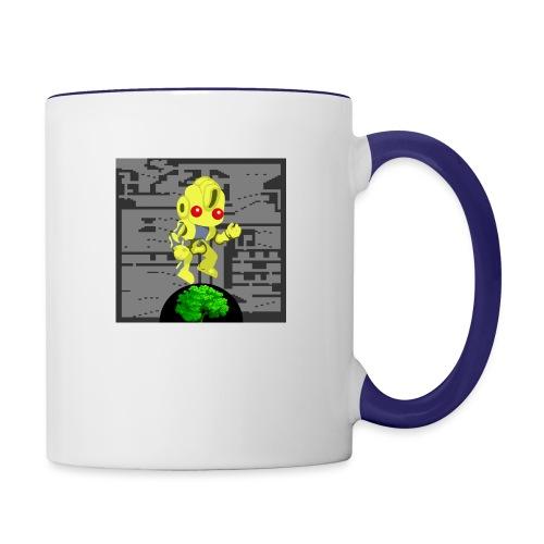 Hollow Earth Woman - Contrast Coffee Mug