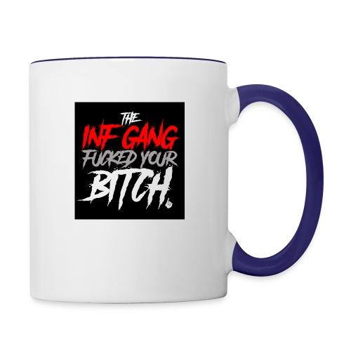 inf_gang_black - Contrast Coffee Mug