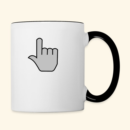 click - Contrast Coffee Mug