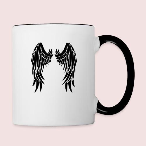 Angel wings - Contrast Coffee Mug