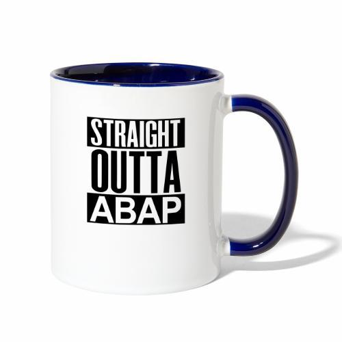 StraightOuttaABAP - Contrast Coffee Mug