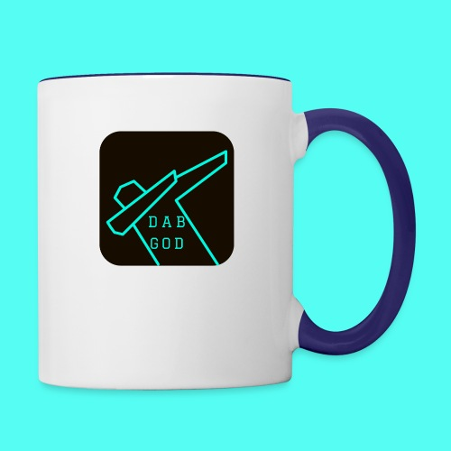 Dab God - the original - Contrast Coffee Mug