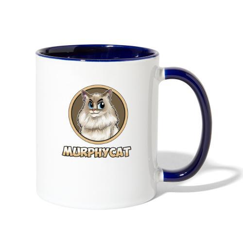 MURPHYCAT LOGO - Contrast Coffee Mug