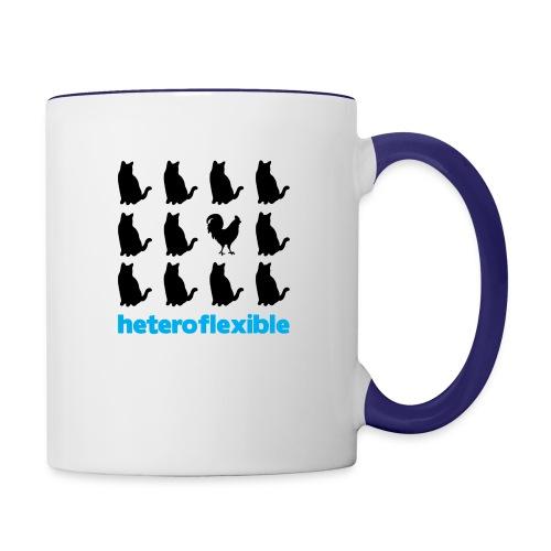 Heteroflexible Male - Contrast Coffee Mug