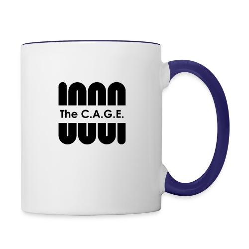 Coil black png - Contrast Coffee Mug