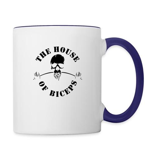SMALL_HOB_LOGO - Contrast Coffee Mug
