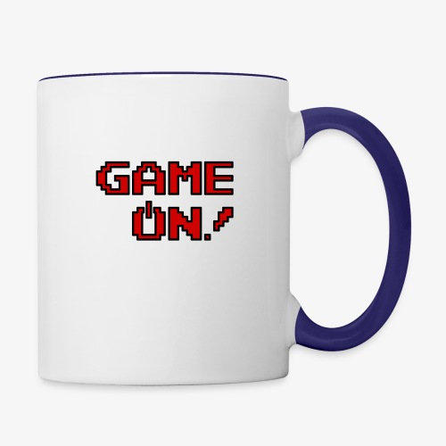 Game On.png - Contrast Coffee Mug