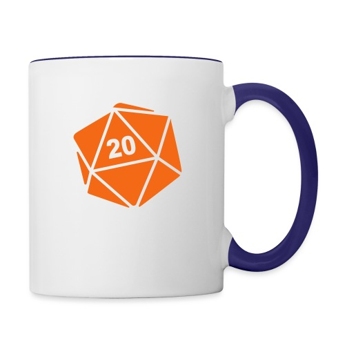 D20 Winter Toque - Contrast Coffee Mug
