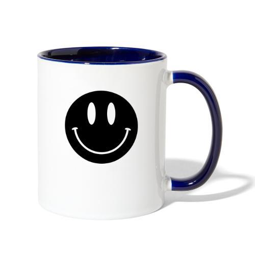 Smiley - Contrast Coffee Mug