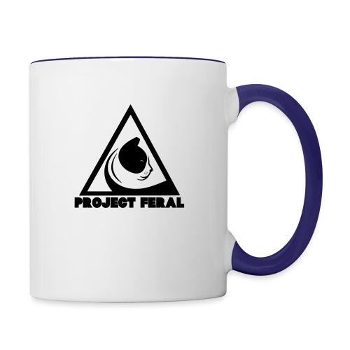 Project feral fundraiser - Contrast Coffee Mug