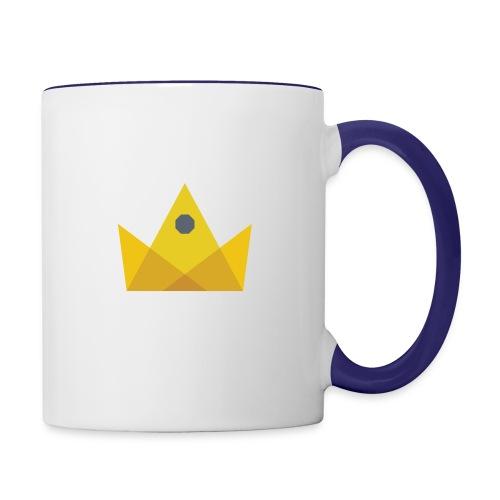 I am the KING - Contrast Coffee Mug