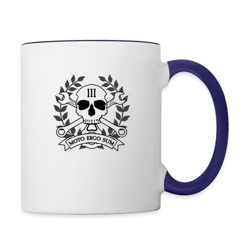 Moto Ergo Sum - Contrast Coffee Mug