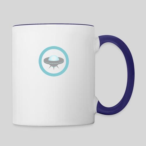 ALIENS WITH WIGS - Small UFO - Contrast Coffee Mug