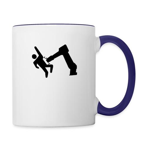Robot Wins! - Contrast Coffee Mug