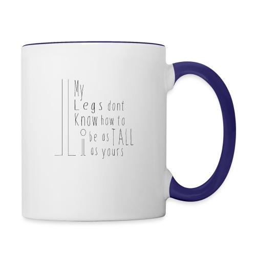 My-Legs - Contrast Coffee Mug