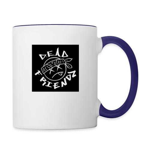 D.E.A.D FRIENDZ Records - Contrast Coffee Mug