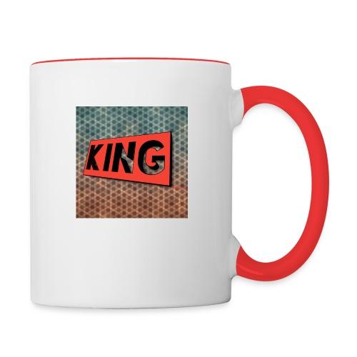 kingcreeper7972 logo - Contrast Coffee Mug