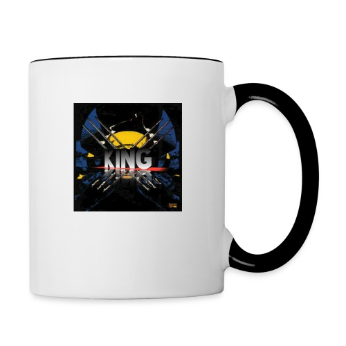 ones wolverine was a king!! - Contrast Coffee Mug