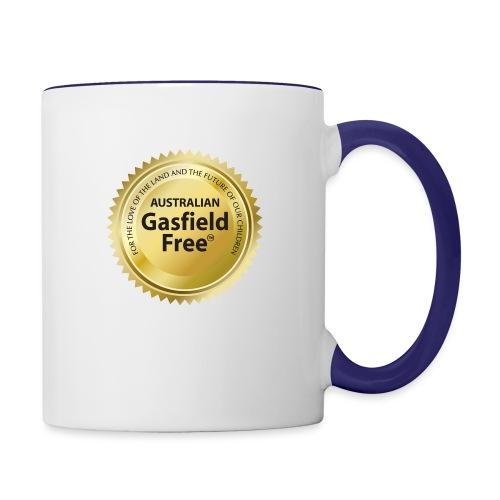 AGF Organic T Shirt - Traditional - Contrast Coffee Mug