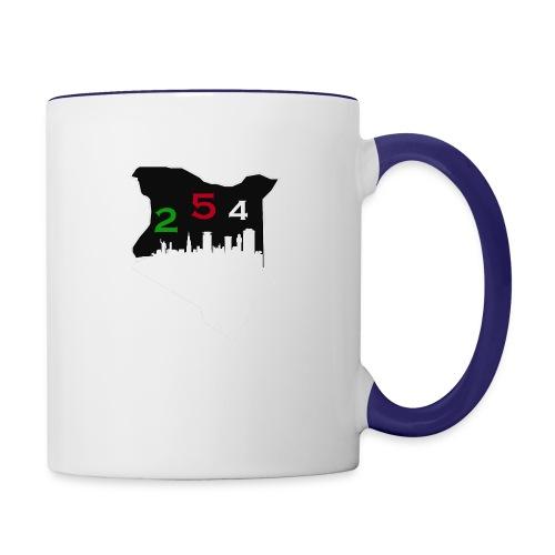 Mwenyeji Wa Kenya - Contrast Coffee Mug