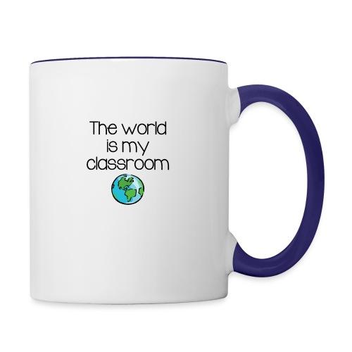 World Classroom - Contrast Coffee Mug