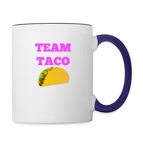 TEAMTACO - Contrast Coffee Mug