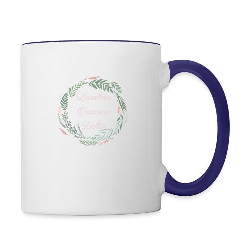 LOD Flower Wreath 1 - Contrast Coffee Mug