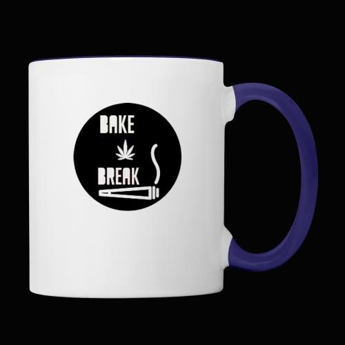Bake Break Logo Cutout - Contrast Coffee Mug