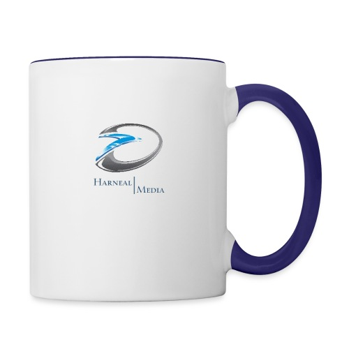 Harneal Media Logo Products - Contrast Coffee Mug