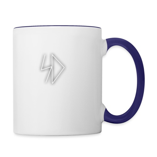Sid logo white - Contrast Coffee Mug