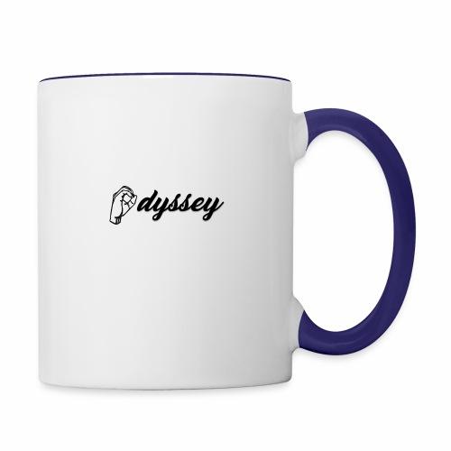 Hand Sign Odyssey - Contrast Coffee Mug