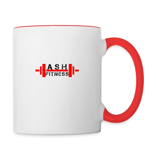 ASH FITNESS MUSCLE ACCESSORIES - Contrast Coffee Mug