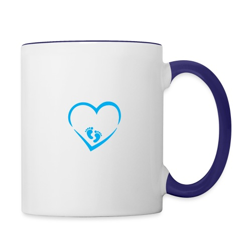 Baby coming soon - Contrast Coffee Mug