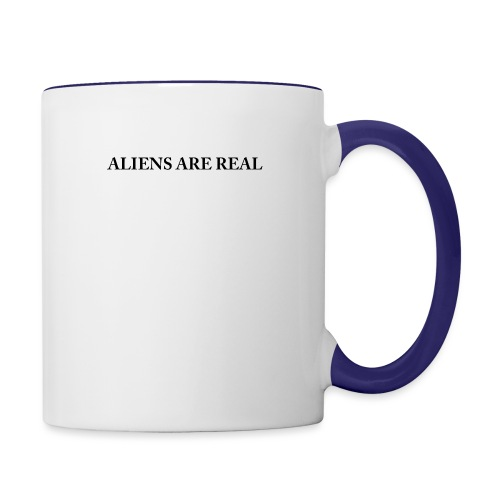 Aliens are Real - Contrast Coffee Mug