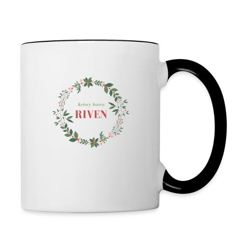 Kristy hates Riven - Contrast Coffee Mug